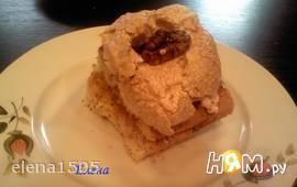 Маковый торт с  абрикосовой  прослойкой