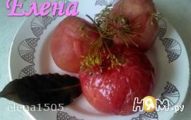 4 часовые маринованные  помидоры