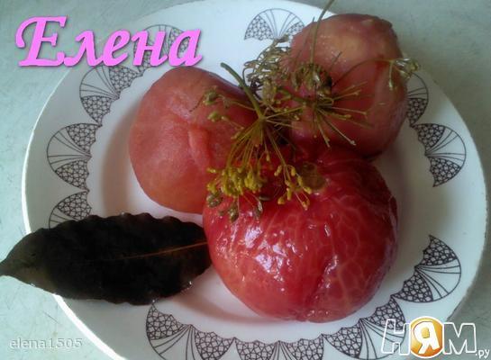 Рецепт 4 часовые маринованные помидоры