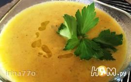 Суп пюре из стеблей сельдерея