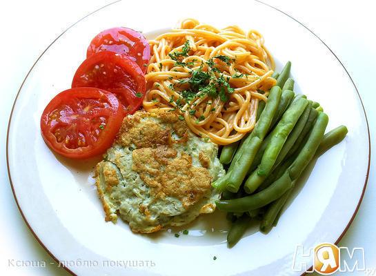Завтрак с рыбным суфле 6 ХЕ (6 хлебных единиц)