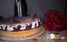 """Вишневый пирог """"Наслаждение"""""""