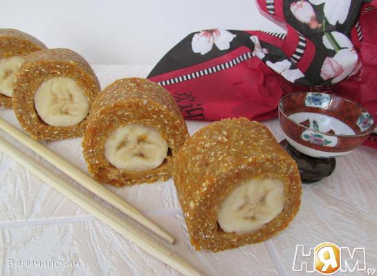 Рецепт Банановые роллы