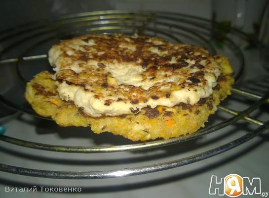 Курино-гороховые бутерброды