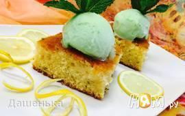Лимонно-розмариновый пирог