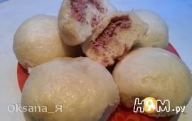 Паровые булочки с фасолью по-корейски