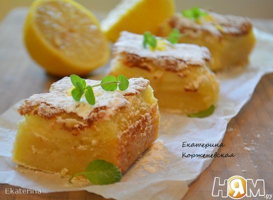Лимонные бары