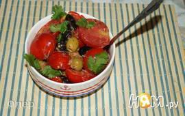 Расплющенный салат