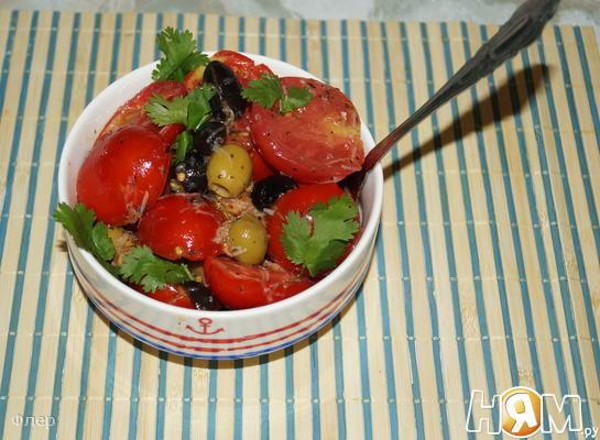 Рецепт Расплющенный салат