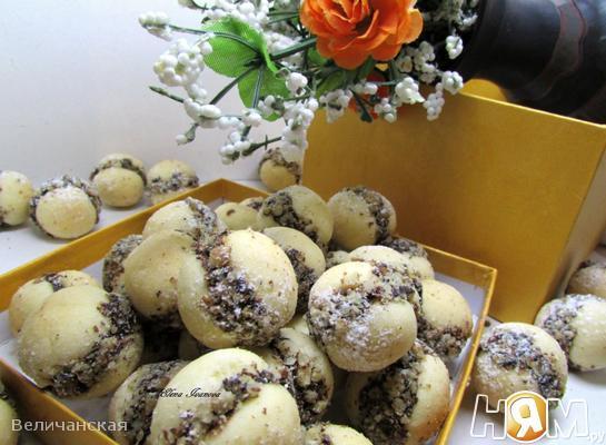 Песочное мини-печенье
