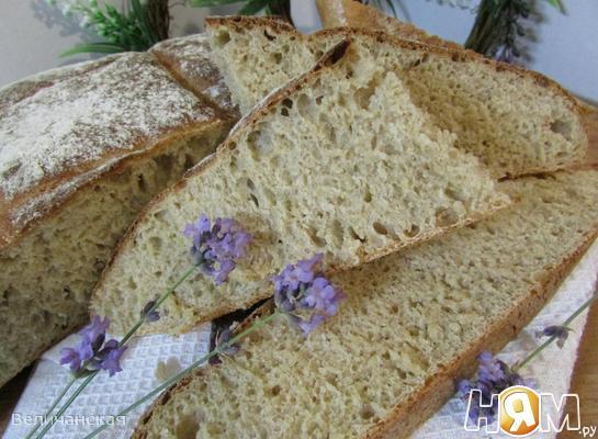 Хлеб с медом и лавандой