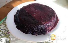 Шоколадный торт со смородиновой пропиткой
