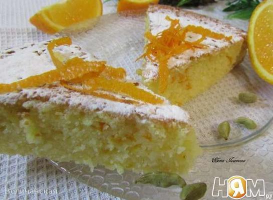 Рецепт Апельсиновый манник