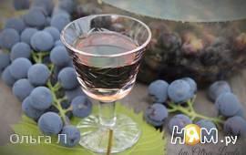 """Виноградная настойка """"Пряно-пьяная Изабелла """""""
