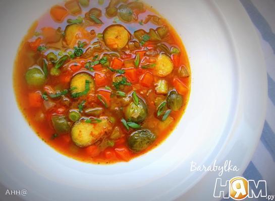Овощной, густой суп