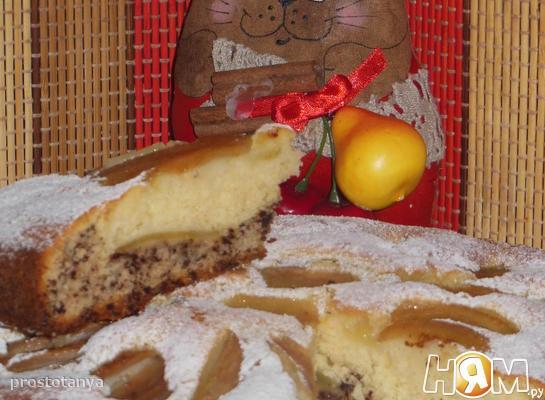 Грушевый итальянский пирог
