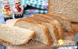 Пшенично-ржаной хлеб с кунжутом