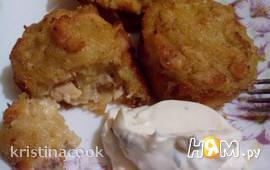 Картофельная бабка с курицей в новой интерпретации