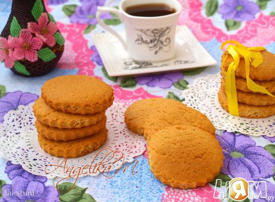 Медовое печенье с пряностями