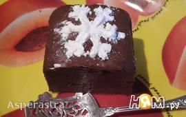 Шоколадно-арахисовые брауни
