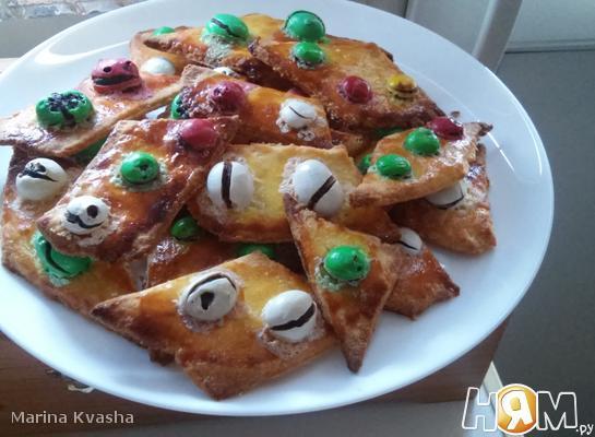 Песочное печенье с mm's