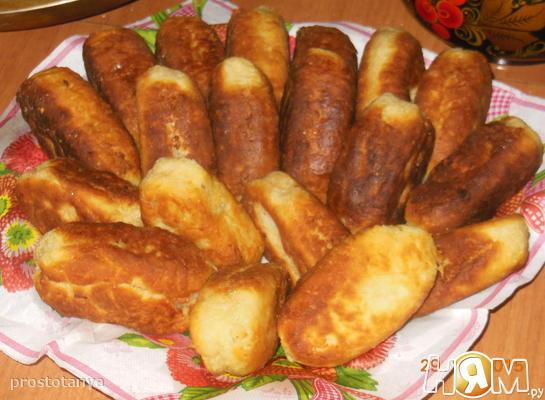 """Пирожки из """"сырного"""" теста"""