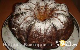 Сметанный кекс со сгущенным молоком