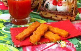 Постное томатное печенье