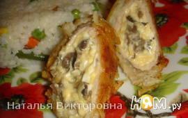 Свиные рулеты в картофеле