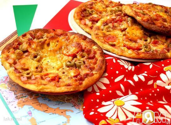 Творожные мини-пиццы