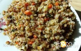 Каша гречневая рассыпчатая с морковью и специями