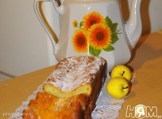 Лимонный кекс с рикоттой