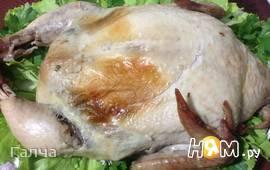 Курица фаршированная по-казахски