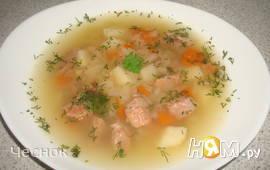 Капустный суп с индейкой