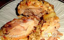 Бедрышки в кремово-горчичном соусе