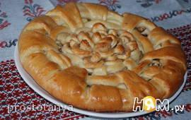 """Пирог с яблоками """"Праздничный"""""""