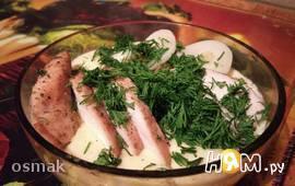 Кукурузный крем-суп с курочкой и грибами