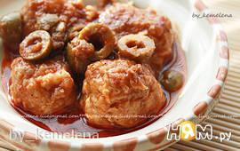 Рыбные фрикадельки по-алжирски (тажин Tajin hout)