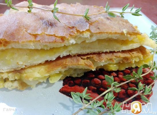 Насджин осетинский пирог с тыквой