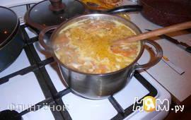 """Суп из 2 видов грибов """"для рыжей бестии"""""""