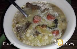 Грибной суп по-гуцульски