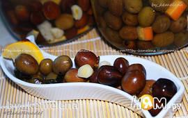 Домашние соленые оливки по-алжирски