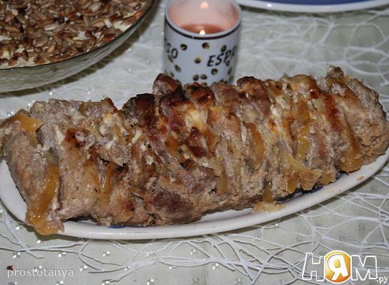 Мясо в яблочном маринаде