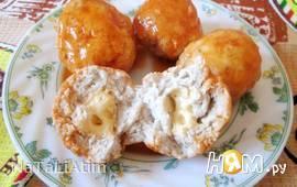 Куриные тефтельки с сыром
