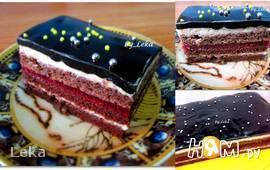 """Торт """"Опера: Темный граф"""""""
