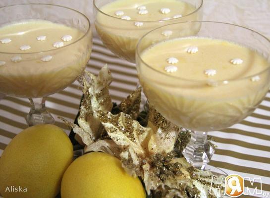 Лимонное суфле.