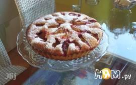 Бретонский пирог со сливами