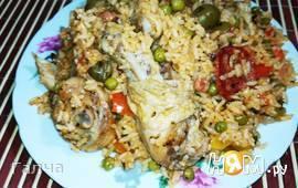 Курица с рисом по-карибски