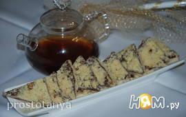 Орехово-шоколадное печенье со сгущёнкой