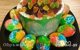 Яркие яйца на Пасху
